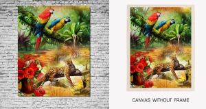 Mesleep Canvas painting without frame-Birds pc-13-30