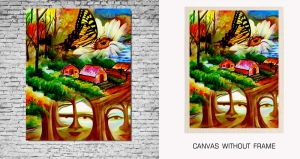 Mesleep Canvas painting without frame-Nature pc-13-33