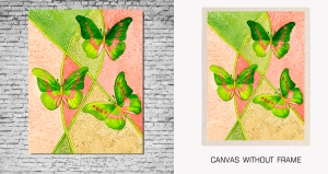 Mesleep Canvas painting without frame-Butterfly pc-13-34