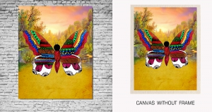 Mesleep Canvas painting without frame-Butterfly pc-13-35