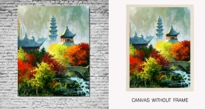 Mesleep Canvas painting without frame-Nature pc-13-37