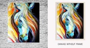 Mesleep Canvas painting without frame-Horse pc-13-43