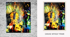 Mesleep Canvas painting without frame-Music of Nature pc-13-48