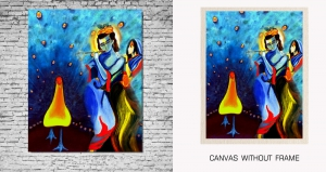 Mesleep Canvas painting without frame-God pc-13-53