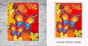 Mesleep Canvas painting without frame-Natural Butterfly pc-13-68