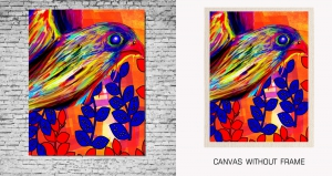 Mesleep Canvas painting without frame-Birds pc-13-70