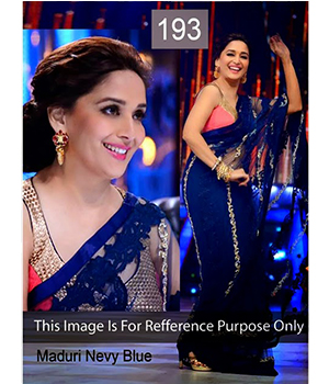 Bollywood Replica Saree Of Madhuri Dixit 193