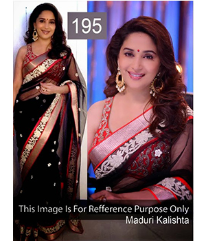 Bollywood Replica Saree Of Madhuri Dixit 195