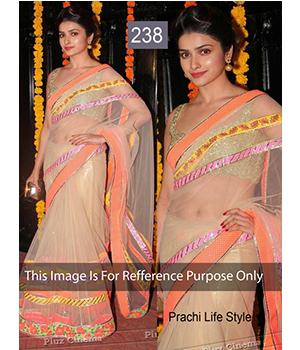 Bollywood Replica Saree Of Prachi Desai  238