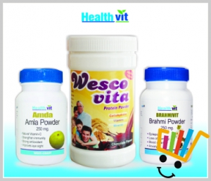 HealthVit Immunity and Memory booster kit HV-COMBO-07