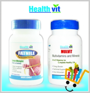 HealthVit Weight managment and multivitamin kit HV-COMBO-09