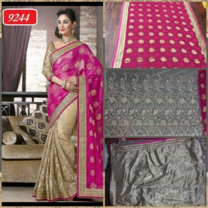Indian model saree with Multi work ET-9244