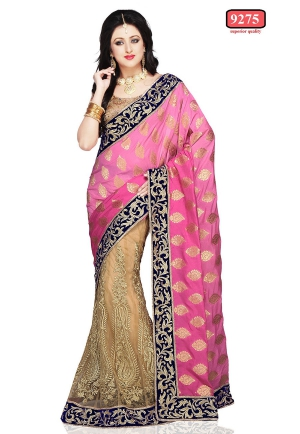 Indian model saree with Multi Work ET-9275