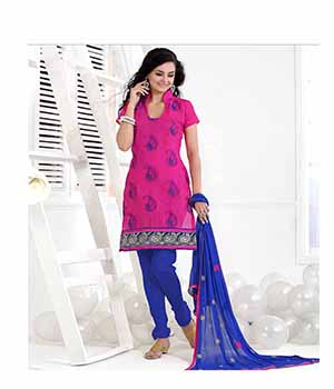 Ritiriwaz pink Fancy Suits with matching duppata SFR1018