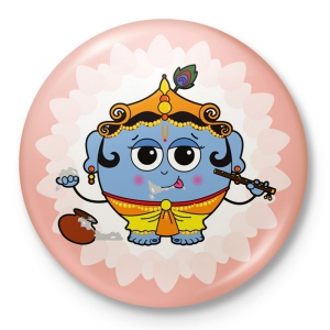 Lord Krishna Home Decorative Refridgerator Special Magnet Toy Gift DLI4CGI120