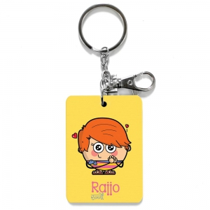 Rajjo Dost Funky Design Keychain cum Bag Tag Friendship Day Gift DLI4CGI147