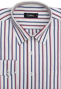 Cairon Red Stripe Executive Formal Shirt Sf-B4358_B