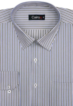 Cairon Blue Stripe Executive Formal Shirt Sf-B4359_A