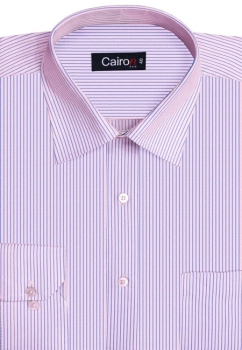 Cairon Pink Stripe Executive Formal Shirt Sf-B4365_A