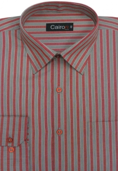 Cairon Red Stripe Executive Formal Shirt Sf-B4414_A