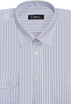 Cairon Blue Stripe Executive Formal Shirt Sf-B4415_B