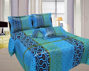 Bombay Dyeing Misty Double Bed Sheet Set  Misty-05