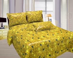 Bombay Dyeing Misty Double Bed Sheet Set  Misty-07