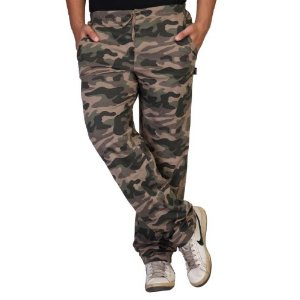 Clifton Men Army Printed Track Pants - Green