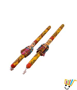 Little India Unisex Dandiya Sticks DLI4DND101