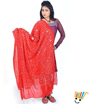 Little India Women Dupatta DLI4DPT108
