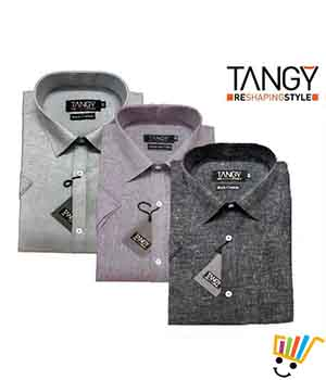 Tangy Pack of 3 Regular Fit Half Shirts THSRF3