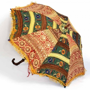 Colorful Special Rajasthani Designer Umbrella Exclusive Handicraft DLI4HCF216