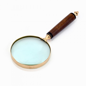 Functional Real Brass Antique Effective Useful Handy Magnifying Glass DLI4HCF351