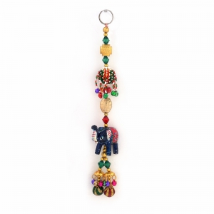 Decorative Rajasthani Artisanship Elephant wall and Car Hanging Gift DLI4HCF358