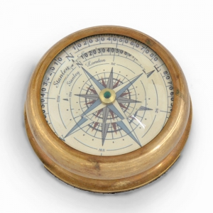 Paper Weight Design Floating Dial Lens View Compass Antique Gift Item DLI4HCF408