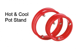 Superdeals Hot And Cool Pot Stand Set Of Four SD029