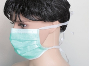 Superdeals Disposable Tie Masks 50Pc SD116