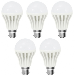 9W Led Bulb 5 Piece Combo Offer SD152