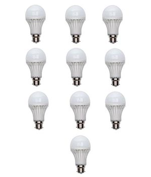 10W Led Bulb 10 Piece Combo Offer SD158