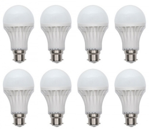 3W Led Bulb 8 Piece Combo Offer SD175