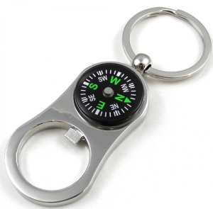 Superdeals Compasskeychain With Bottle Opener SD208