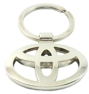 Superdeals Toyota Metallic Ring Key Chain SD222