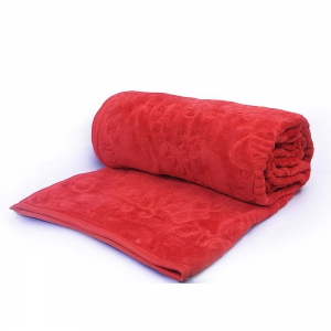 Embossed Mild Korean Design Single Bed Fancy Warm Mink Blanket  DLI4SBK106