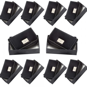 Wholesale Lot of 10 Men Pure Leather Visiting And Credit Card Holders DL5LOT538