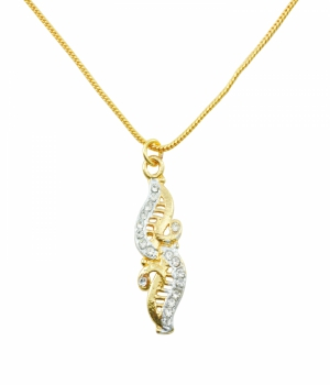 Aakshi Plated Gold Necklace AKS_NK_ABIG