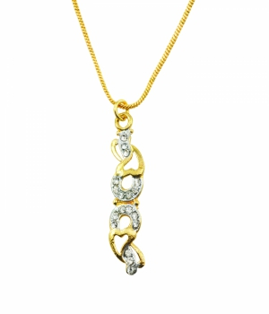 Aakshi Plated Gold Necklace AKS_NK_DKBHU