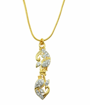 Aakshi Plated Gold Necklace AKS_NK_PPMM