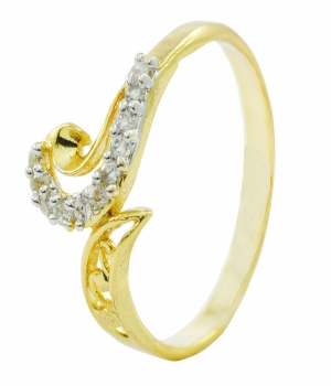 Aakshi Plated Gold Ring AKS_RG_DDMRH