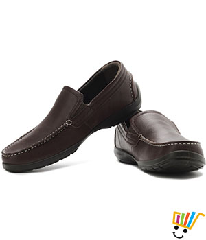 Woodland Loafers Hard Footbed - Brown