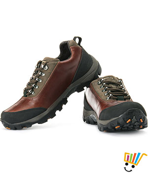 Woodland Outdoors Shoes Hard Footbed - Bordo